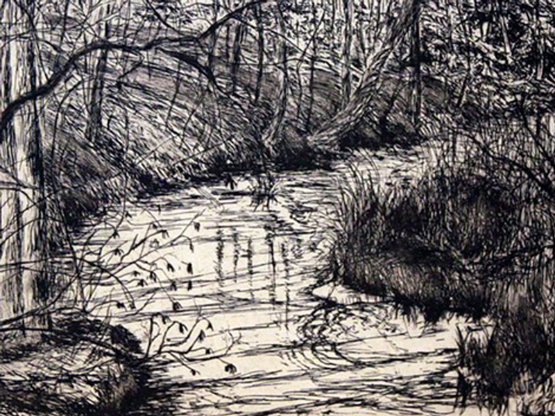 etching of Pigeon Creek