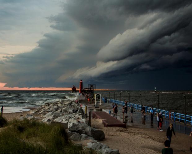 Storm brewing by Bob Walma