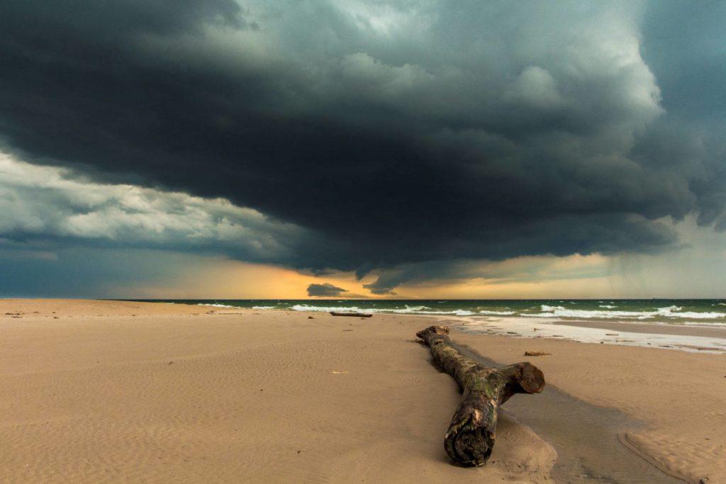 stormy may sunset by bob walma