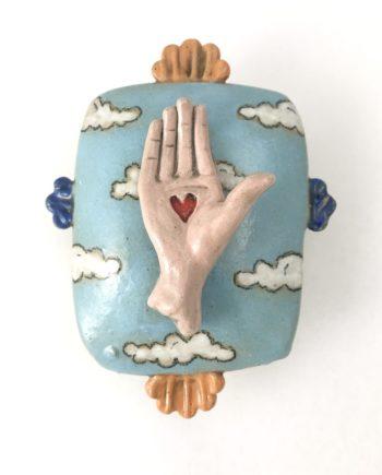 hand wall block