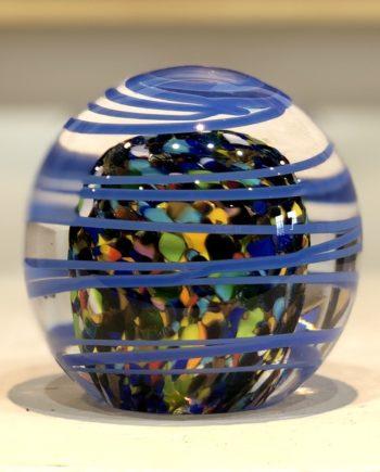 Blue Zinger Paperweight