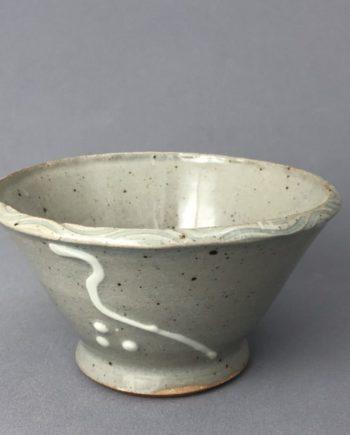 small ceramic bowl - grey