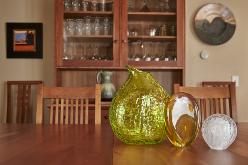 Hand blown glass for homes