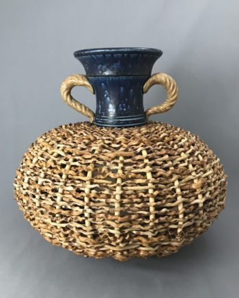classic palm vase by Stephen Kostyshyn