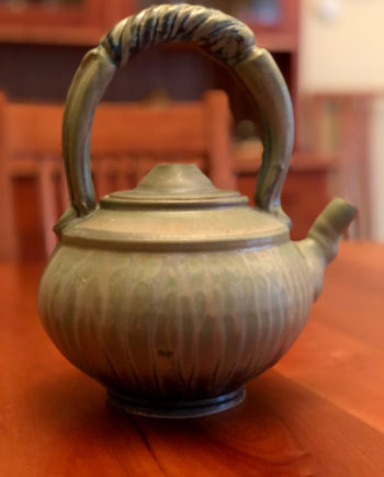 Handmade Ceramic Teapot by Richard Aerni